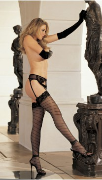 SHEER STRETCH KNIT STOCKINGS