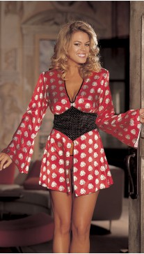CHARMEUSE MARILYN ROBE